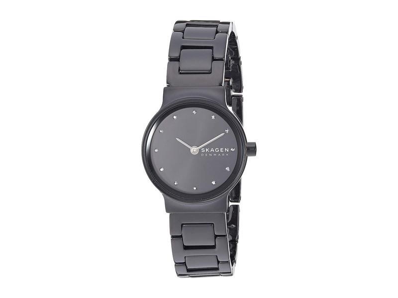 スカーゲン レディース 腕時計 アクセサリー Freja Two-Hand Watch SKW2830 Black S