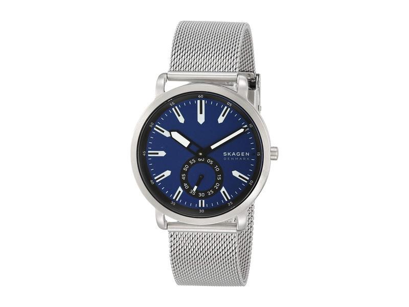 スカーゲン メンズ 腕時計 アクセサリー Colden Three-Hand Mesh Watch SKW6610 Silver