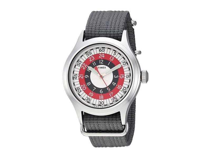 タイメックス メンズ 腕時計 アクセサリー Todd Snyder Red Mod 40mm Grey/Red/White