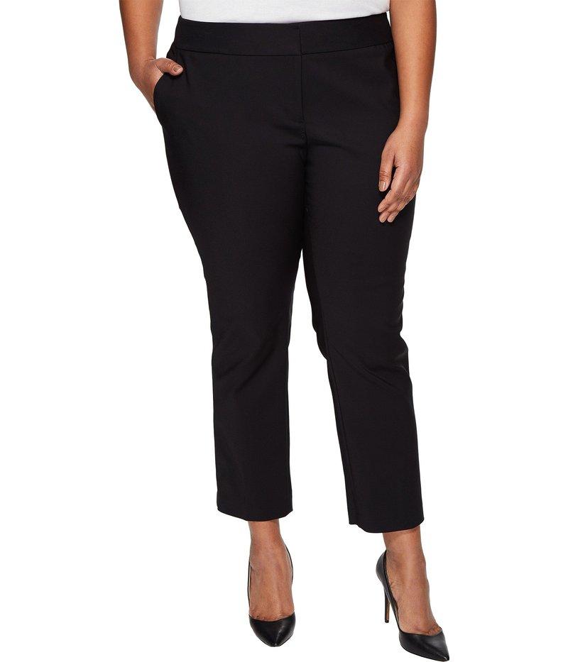 ヴィンス カムート レディース カジュアルパンツ ボトムス Plus Size Front Zip Ankle Pants Rich Black
