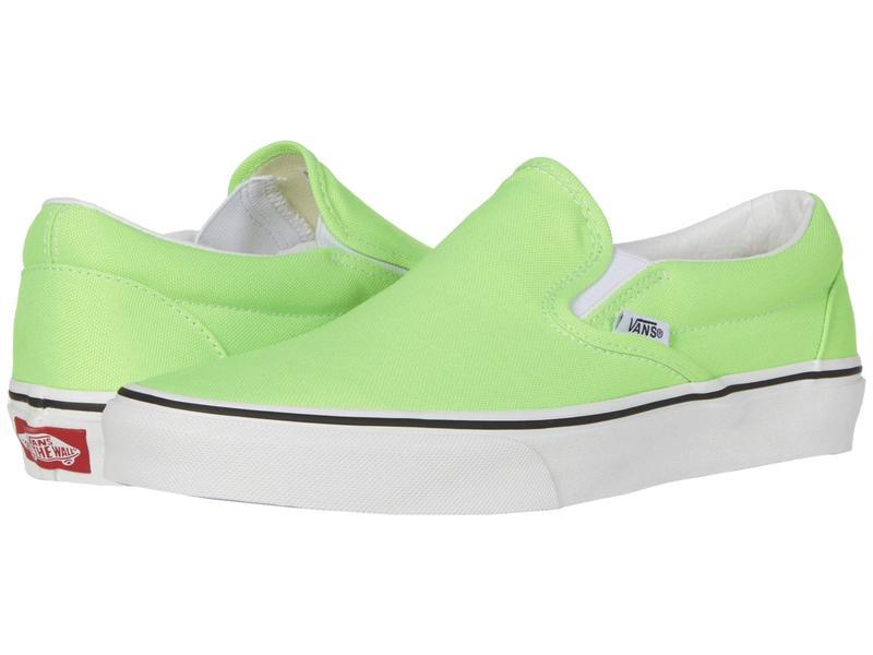 バンズ メンズ スニーカー シューズ Classic Slip-On¢ (Neon) Green Ge