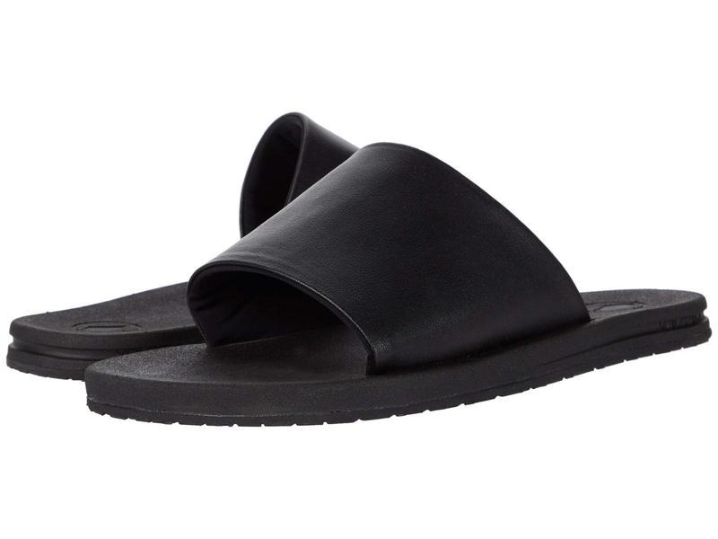 ボルコム レディース サンダル シューズ E-Cliner Slide Black Out