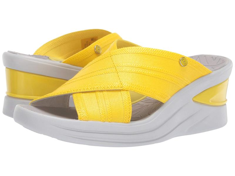 ビジーズ レディース ヒール シューズ Vista Blazing Yellow
