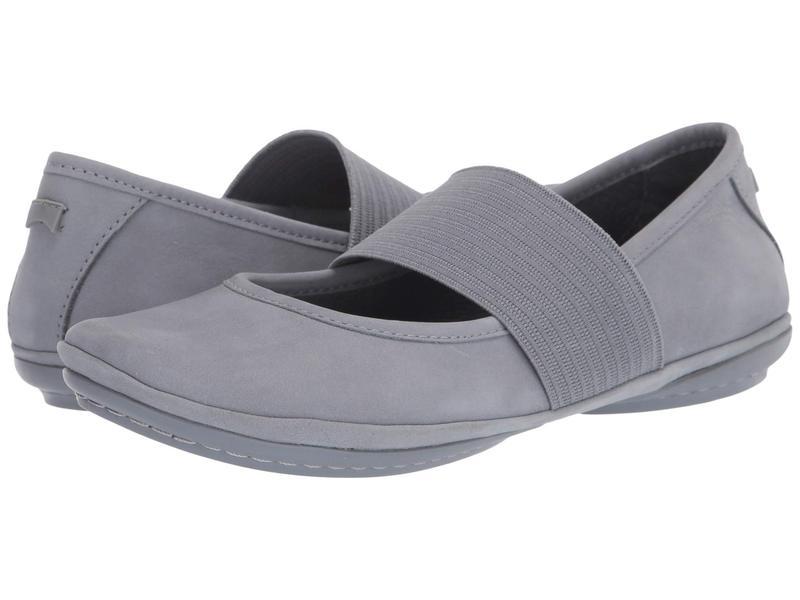 カンペール レディース サンダル シューズ Right Nina - 21595 Medium Grey