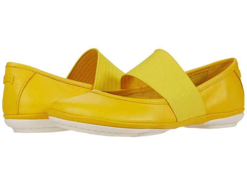 カンペール レディース サンダル シューズ Right Nina - 21595 Medium Yellow