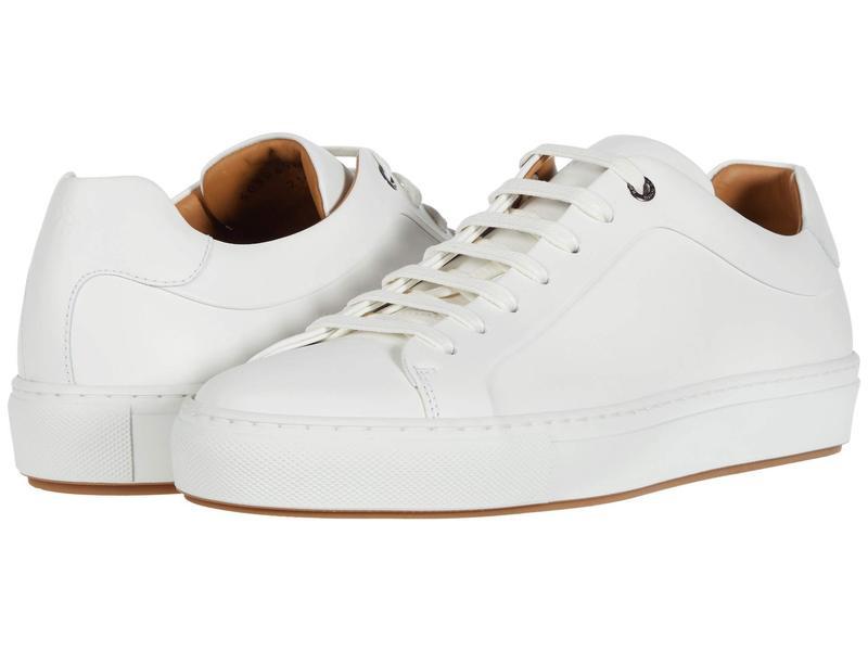 ヒューゴボス メンズ スニーカー シューズ Mirage Low Top Sneaker by BOSS White