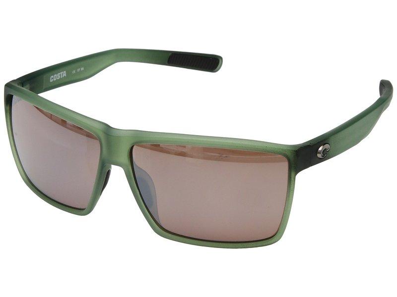 コスタ メンズ サングラス・アイウェア アクセサリー Rincon Matte Palm Green Frame/Copper Silver Mirror 580P