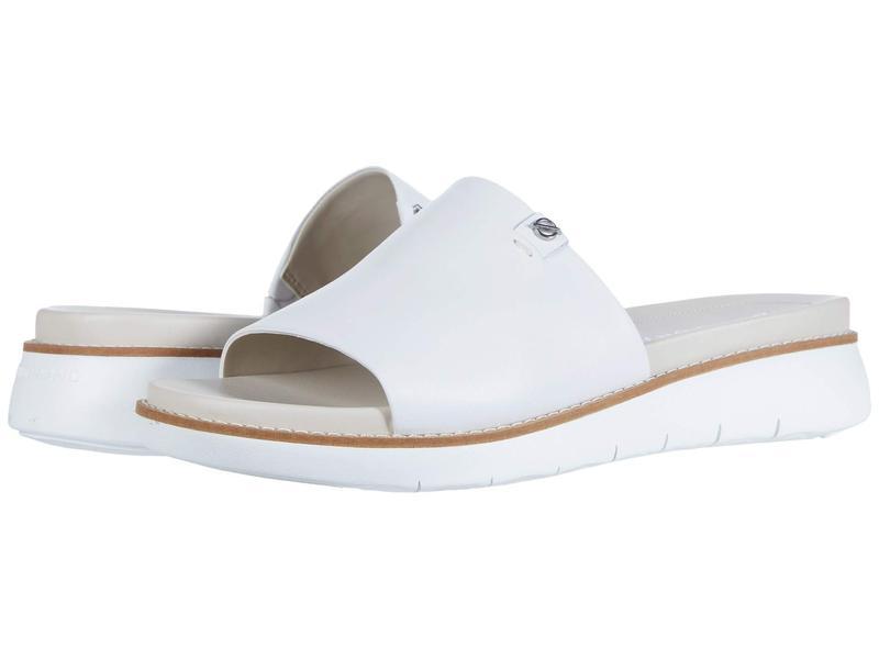 コールハーン レディース ヒール シューズ Zerogrand Global Slide Sandal Optic White/Pum