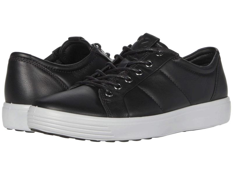 エコー メンズ スニーカー シューズ Soft 7 Premium Sneaker Black/Concrete