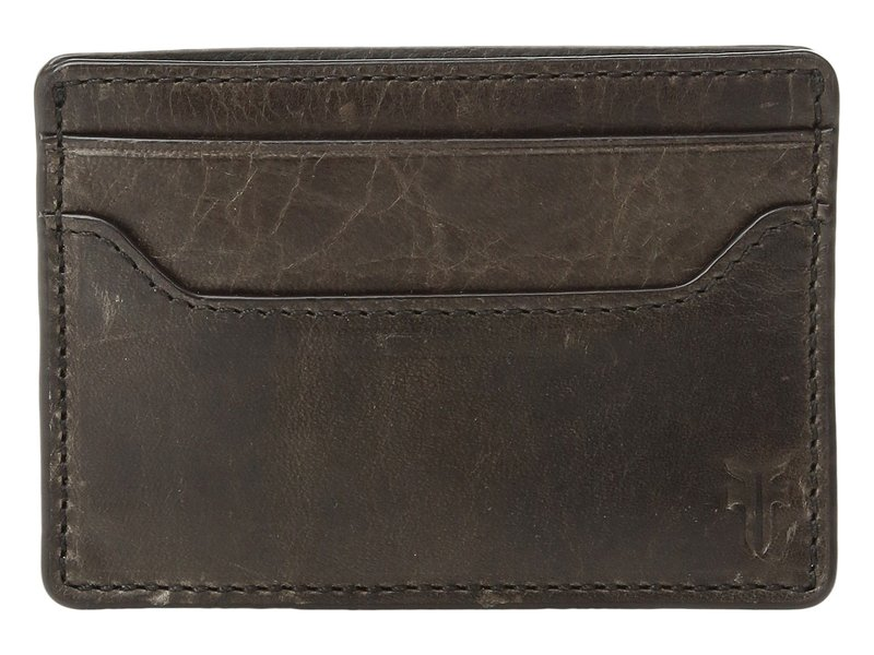 フライ メンズ 財布 アクセサリー Logan Money Clip Card Case Slate Antique P