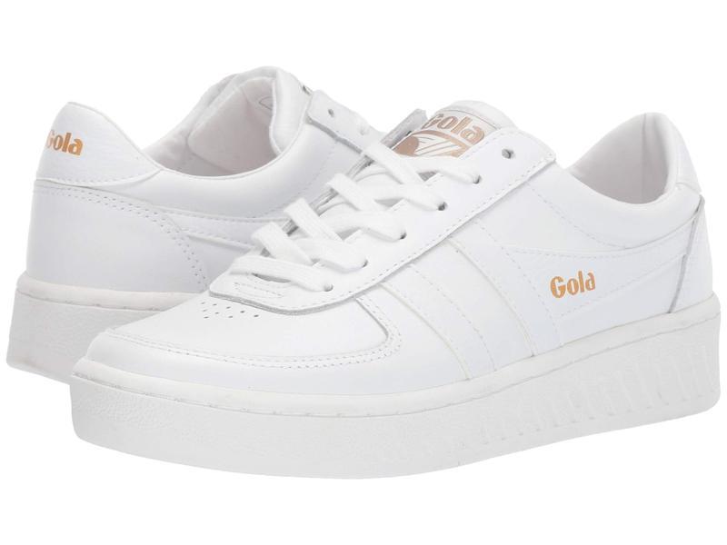 ゴラ レディース スニーカー シューズ Grandslam Leather White/White/Whi