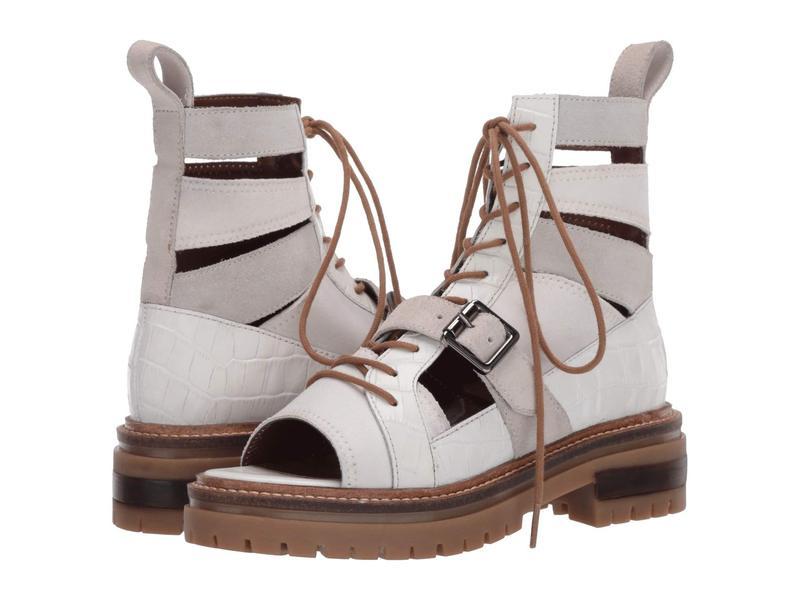 フリーピープル レディース ブーツ・レインブーツ シューズ Mandi Lace-Up White