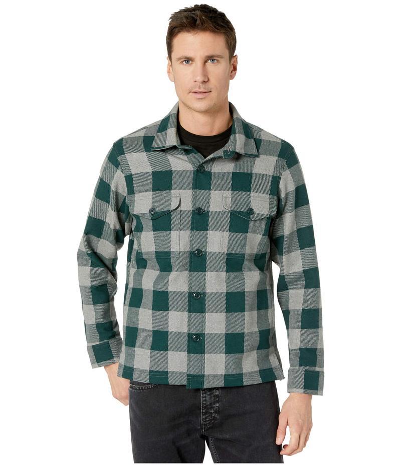 フィルソン メンズ コート アウター Deer Island Jac-Shirt Forest/Heather