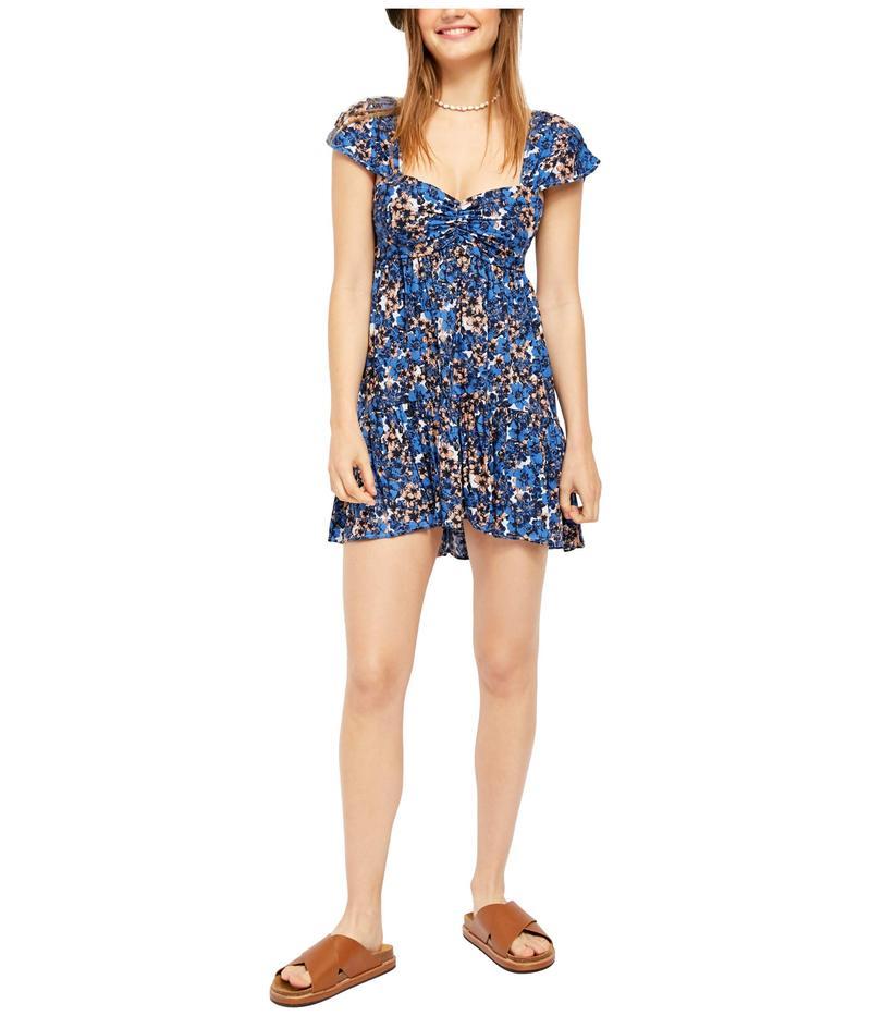 フリーピープル レディース ワンピース トップス Pattern Play Mini Dress Blue