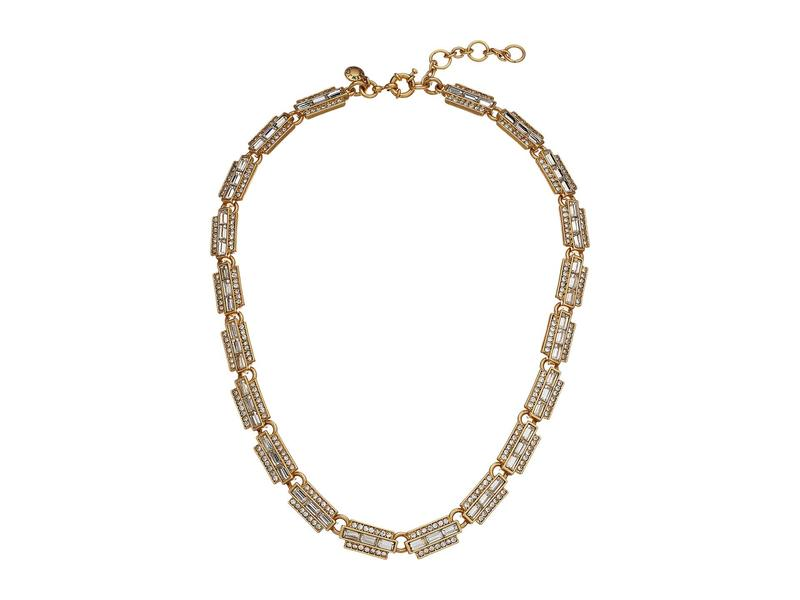 ジェイクルー レディース ネックレス・チョーカー・ペンダントトップ アクセサリー Bacchio Station Necklace Crystal
