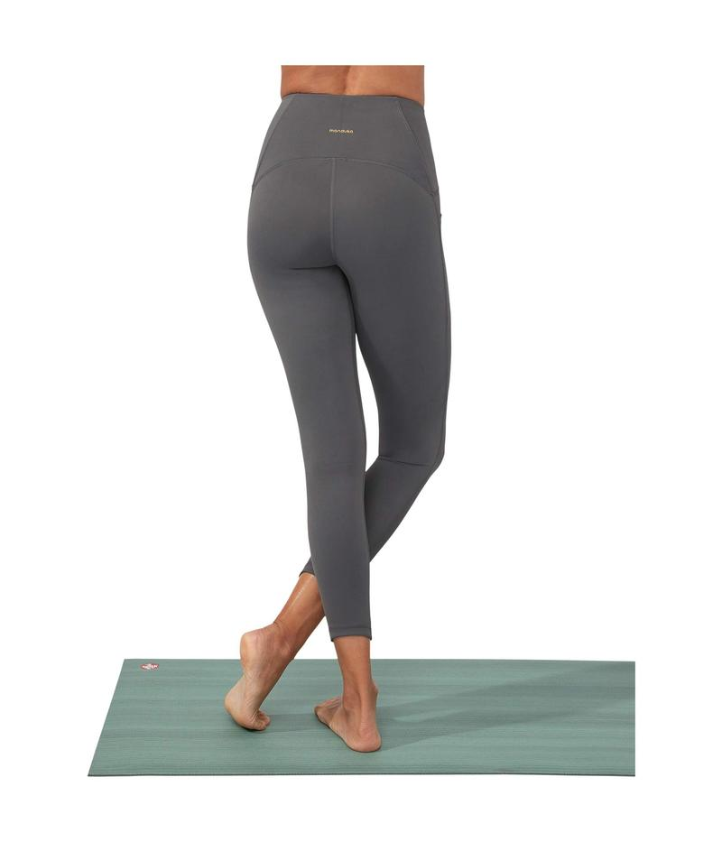 マンデュラ レディース カジュアルパンツ ボトムス Presence 7/8 Pocket Legging New Grey