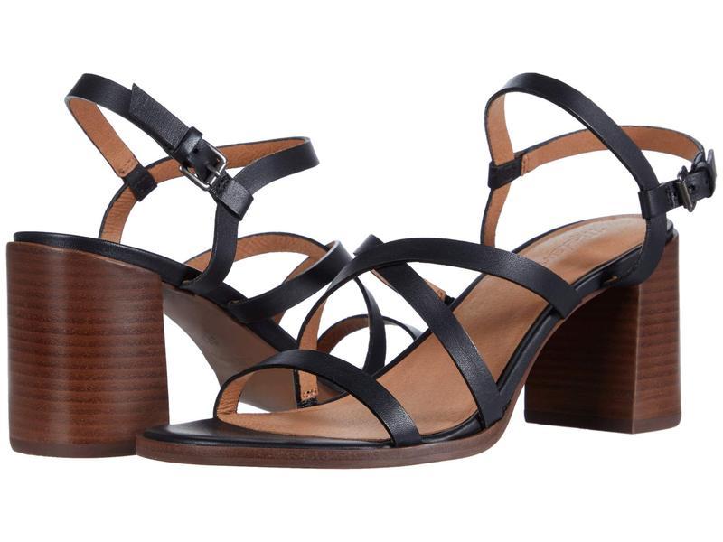 メイドウェル レディース ヒール シューズ Sabine Skinny Strap Heeled Sandal True Black