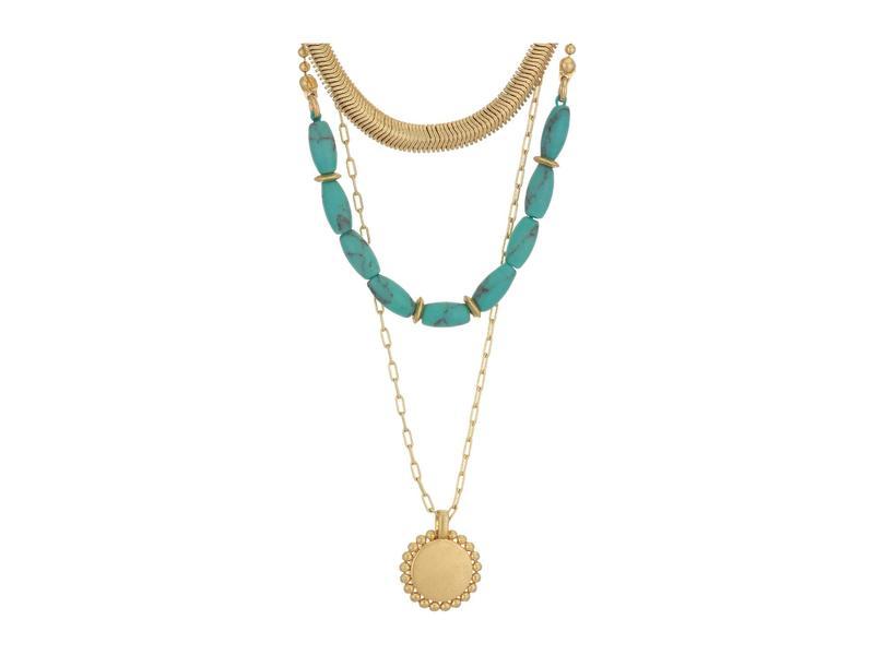 メイドウェル レディース ネックレス・チョーカー・ペンダントトップ アクセサリー Westward Concho Necklace Turquoise