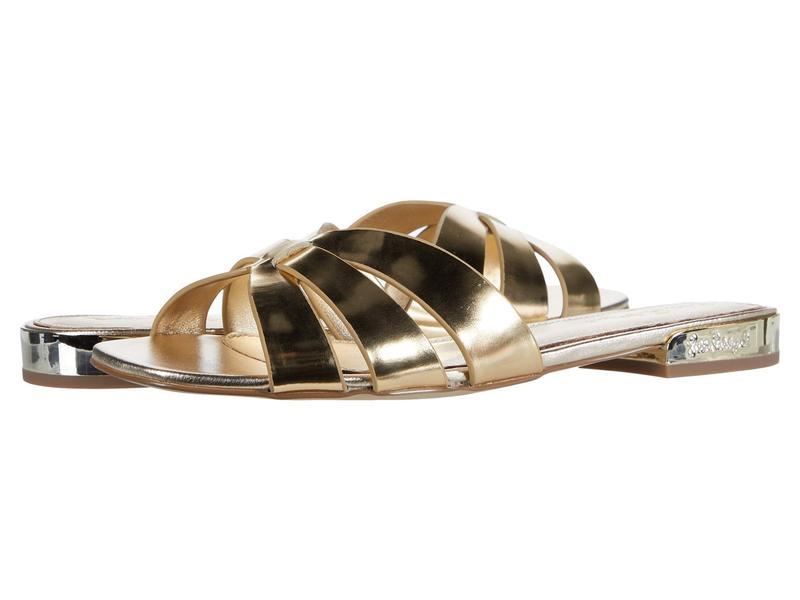 リリーピュリッツァー レディース サンダル シューズ Whitley Slide Gold Metallic