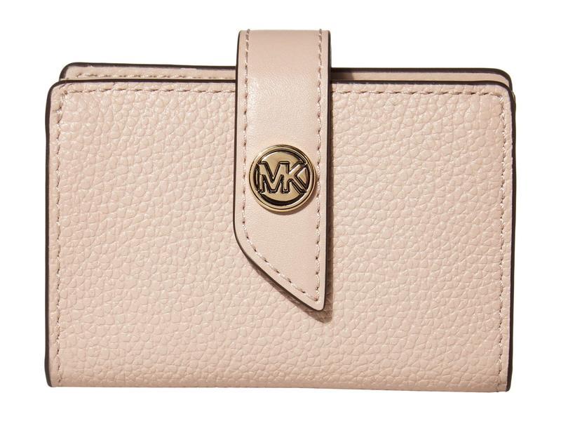 マイケルコース レディース 財布 アクセサリー Charm Small Tab Card Case Soft Pink