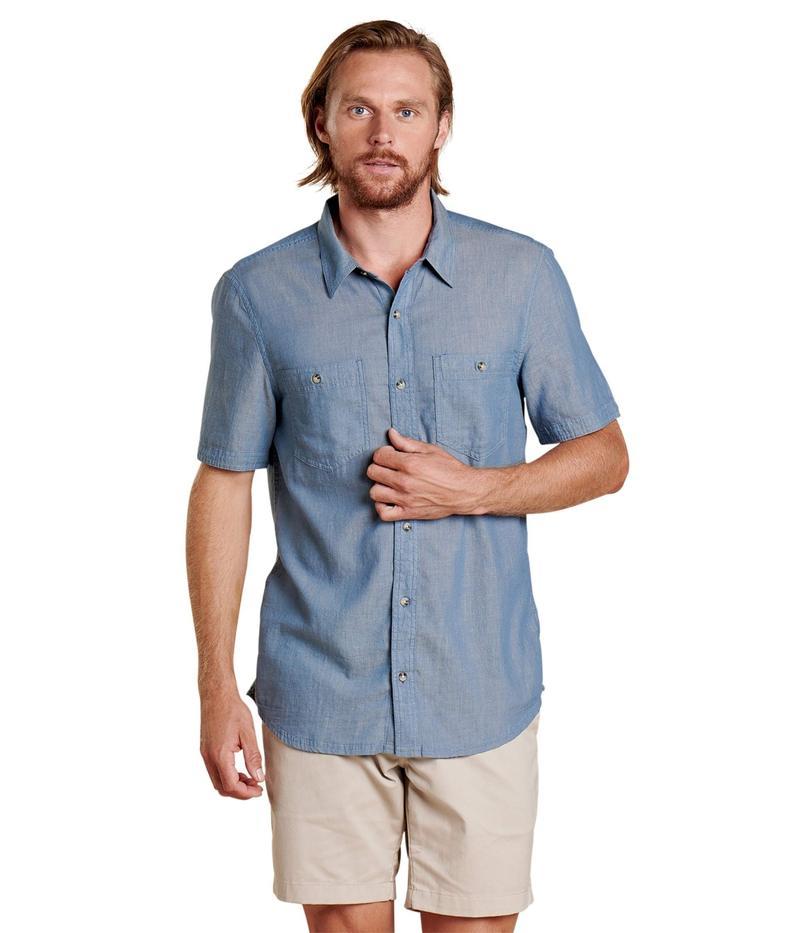ドード アンドコー メンズ シャツ トップス Honcho Short Sleeve Shirt High Tide
