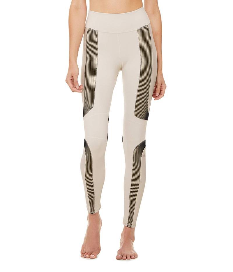 アロー レディース カジュアルパンツ ボトムス High-Waist Electric Leggings Bone