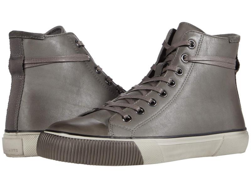 オールセインツ メンズ スニーカー シューズ Osun High Top Charcoal/Grey