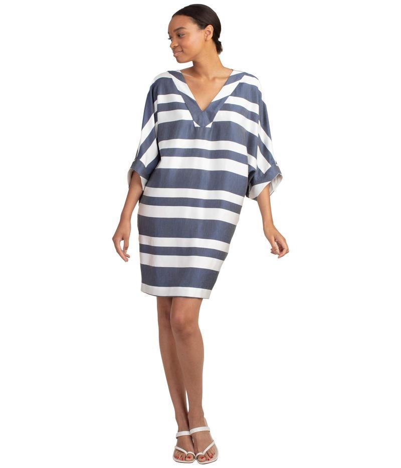 トリーナターク レディース ワンピース トップス Nantucket Dress Ink/Whitewash