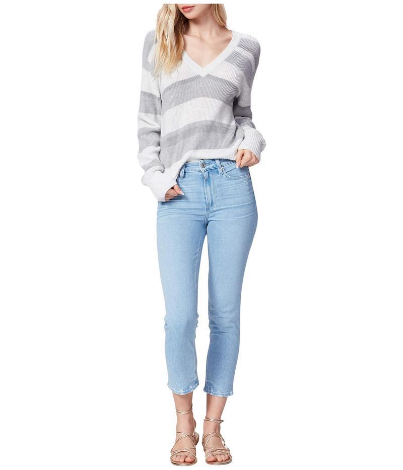 ペイジ レディース デニムパンツ ボトムス Hoxton Slim Crop Jeans in Duet/Stepped On Hem Duet/Stepped On