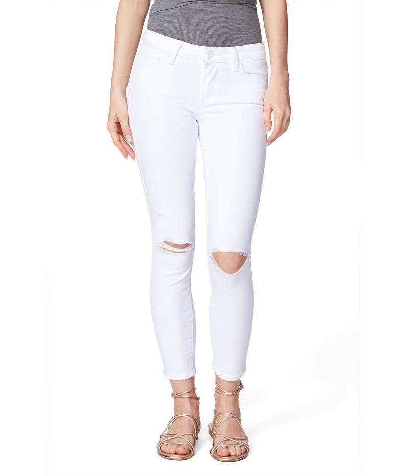 ペイジ レディース デニムパンツ ボトムス Verdugo Crop Jeans in Leche Destructed Leche Destructe