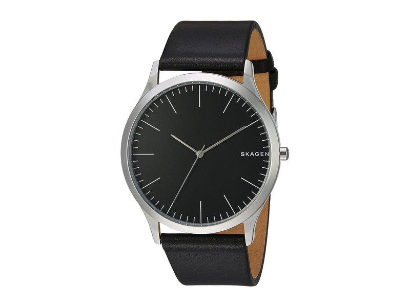 スカーゲン メンズ 腕時計 アクセサリー Jorn Three-Hand Watch SKW6329 Black L