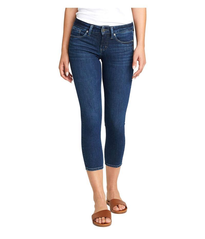 シルバー ジーンズ レディース デニムパンツ ボトムス Suki Skinny Crop Jeans L43969ASX312 Indigo