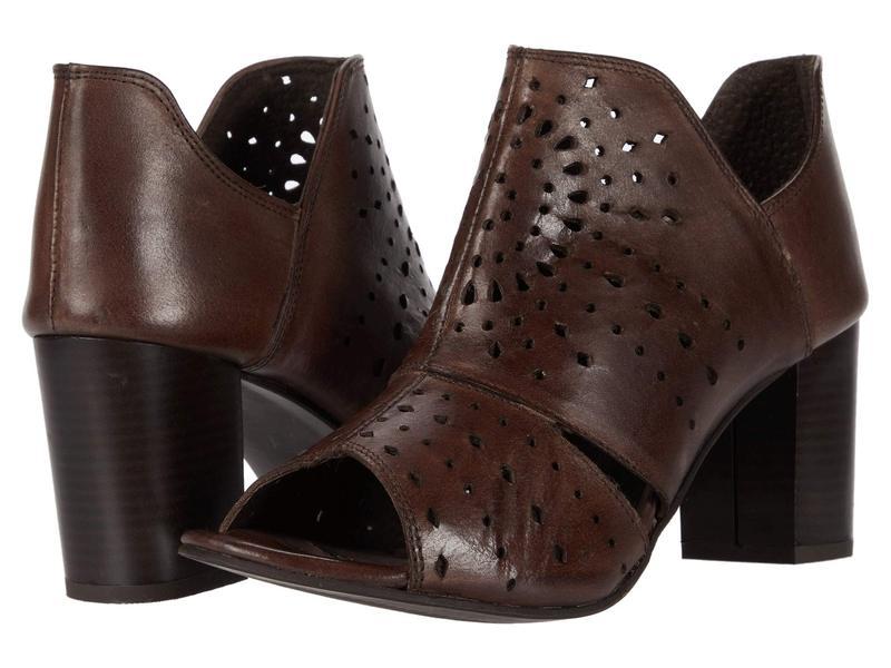 ローパー レディース ヒール シューズ Mika Panels Brown Leather