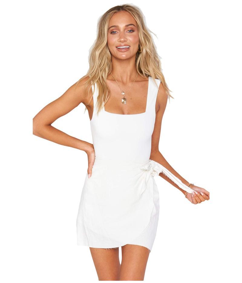 ウミーユアムーム レディース スカート ボトムス Iva Wrap Skirt White Linen
