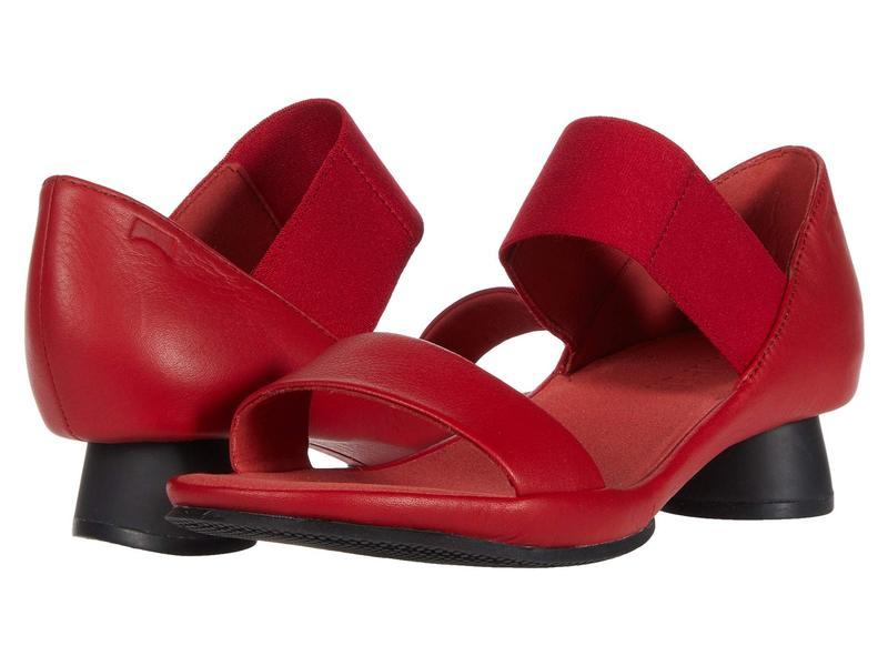 カンペール レディース ヒール シューズ Alright Sandal - K200770 Red