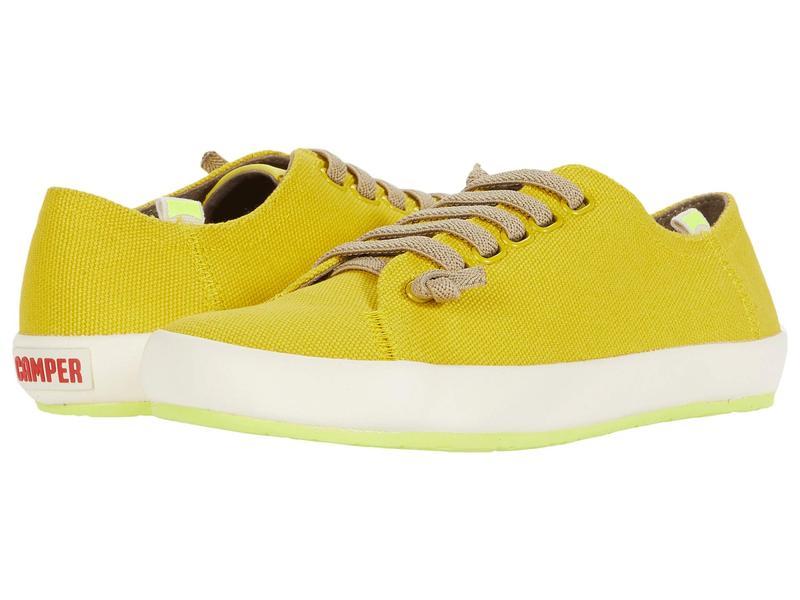 カンペール レディース スニーカー シューズ Peu Rambla Vulcanizado Medium Yellow