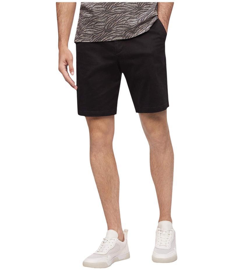 カルバンクライン メンズ ハーフパンツ・ショーツ ボトムス Refined Stretch Chino Shorts Black