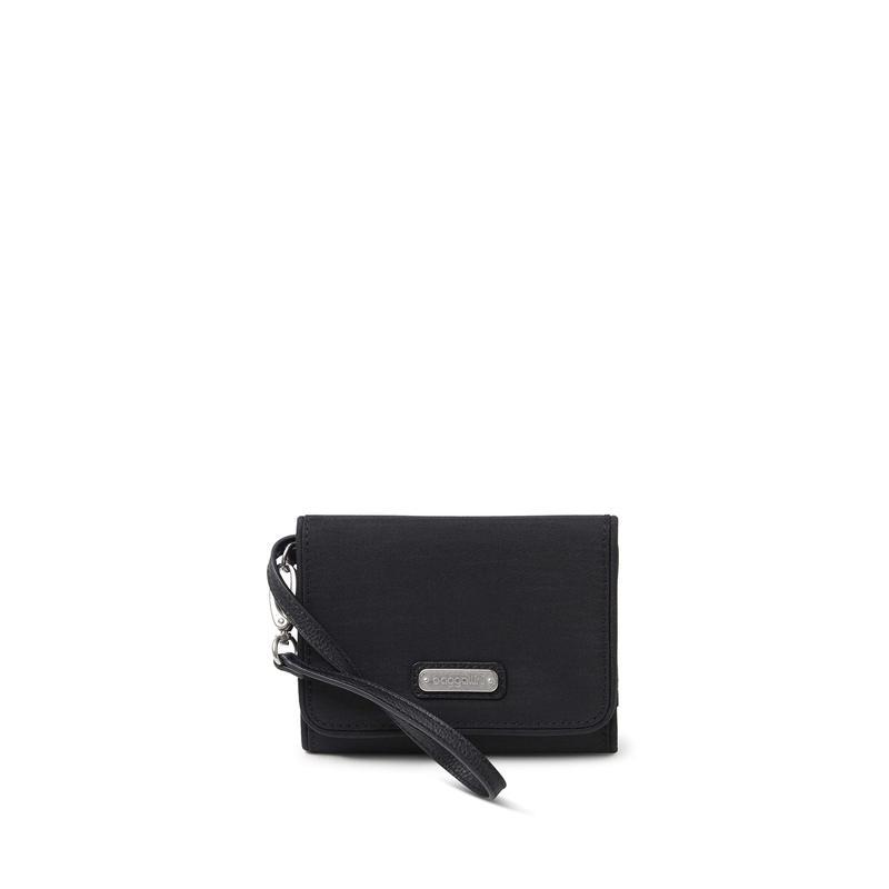 バッガリーニ レディース 財布 アクセサリー Compact Wallet Black