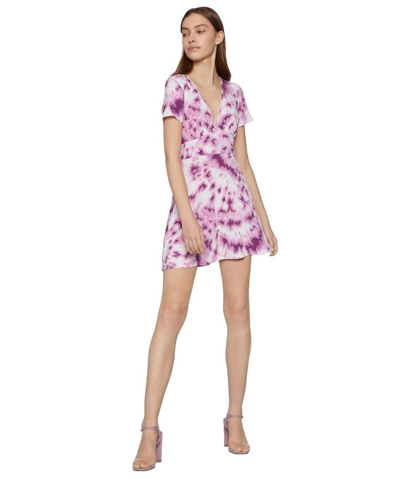 BCBジェネレーション レディース ワンピース トップス Day Short Sleeve Knit Dress - TUN6271513 Lavender Herb