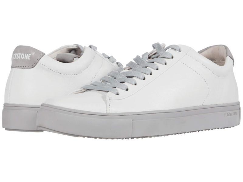 ブラックストーン メンズ スニーカー シューズ RM52 White/Silver Sc