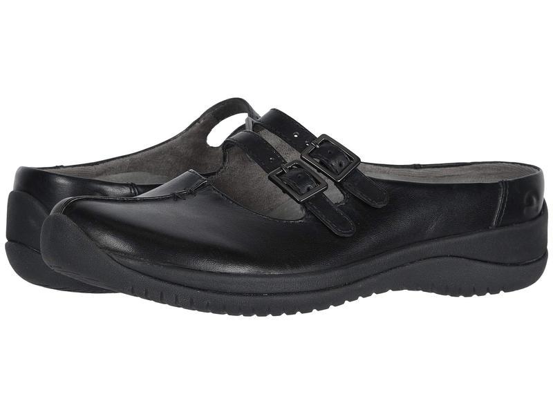 アース レディース サンダル シューズ Kara Monza Black Soft Calf