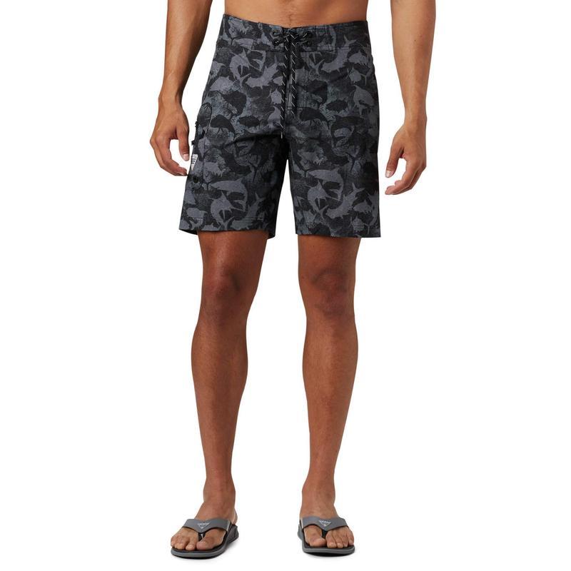 コロンビア メンズ ハーフパンツ・ショーツ 水着 PFG Offshore II 9 inch Board Shorts Black Inside Ou