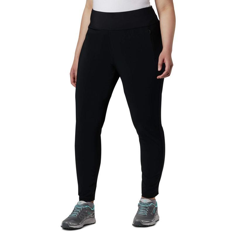 コロンビア レディース カジュアルパンツ ボトムス Plus Size Place to Place¢ High-Rise Leggings Black