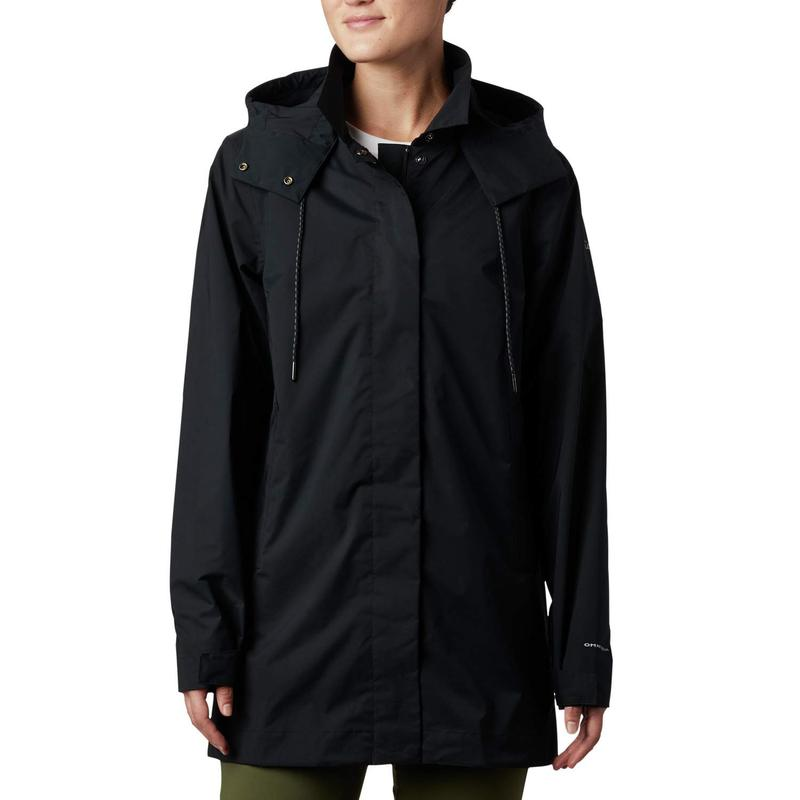 コロンビア レディース コート アウター East Park¢ Mackintosh Jacket Black