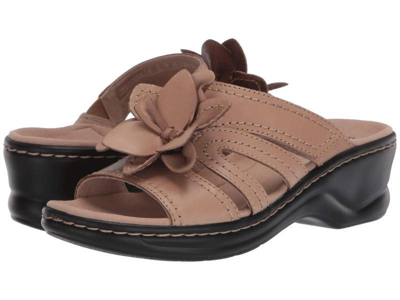 クラークス レディース ヒール シューズ Lexi Opal Sand Leather