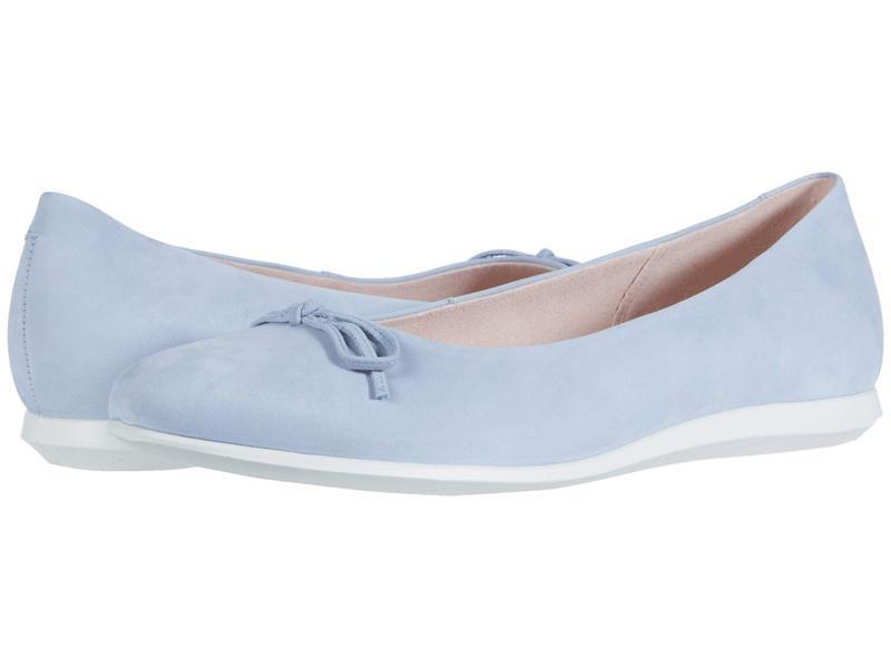 エコー レディース サンダル シューズ Touch Ballerina 2.0 Dusty Blue Cow