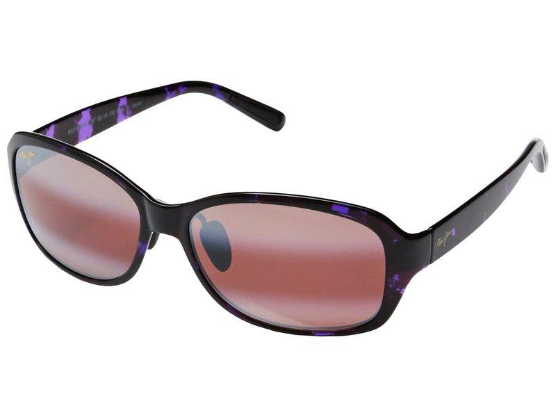マウイジム レディース サングラス・アイウェア アクセサリー Koki Beach Purple Tortoise/Maui Rose