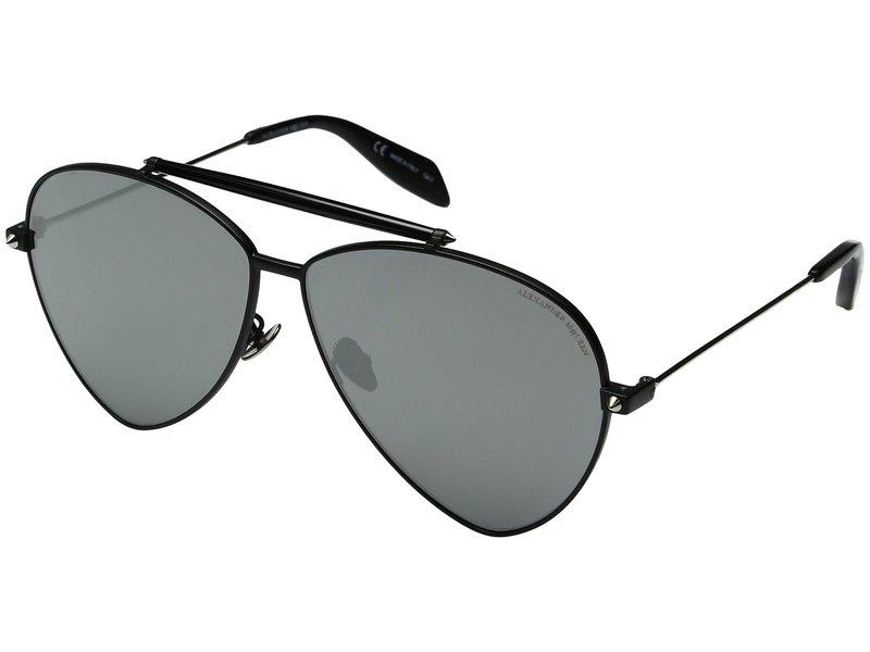 アレキサンダー・マックイーン メンズ サングラス・アイウェア アクセサリー AM0058S Black/Silver Mirror