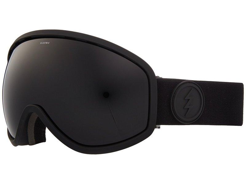 エレクトリックアイウェア メンズ サングラス・アイウェア アクセサリー Masher Matte Black Frame/Jet Black Lens