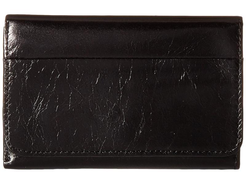 ホボ レディース 財布 アクセサリー Jill Trifold Wallet Black Vintage L